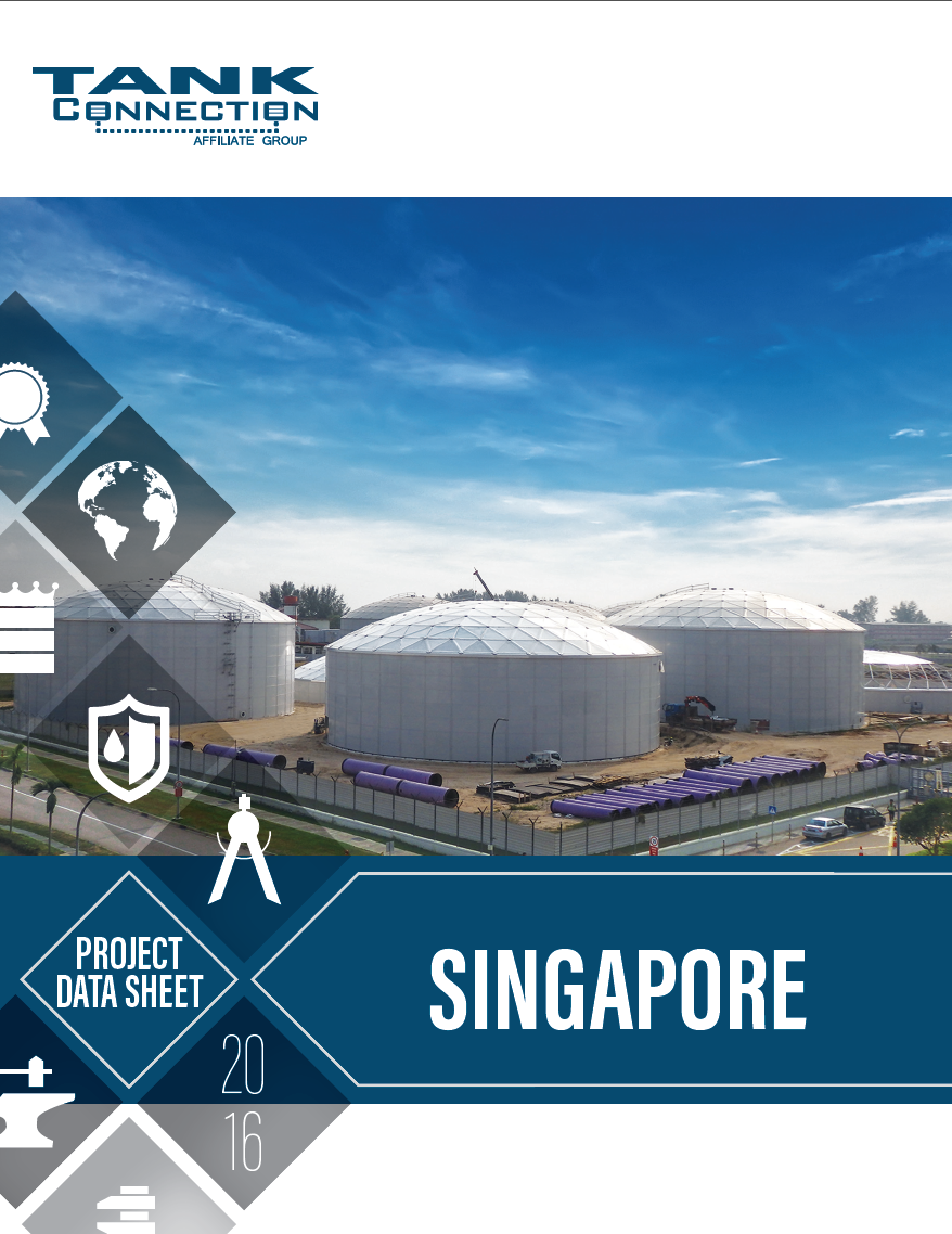 Singapore Reverse Osmosis Flsh/Feed Water Project Data Sheet