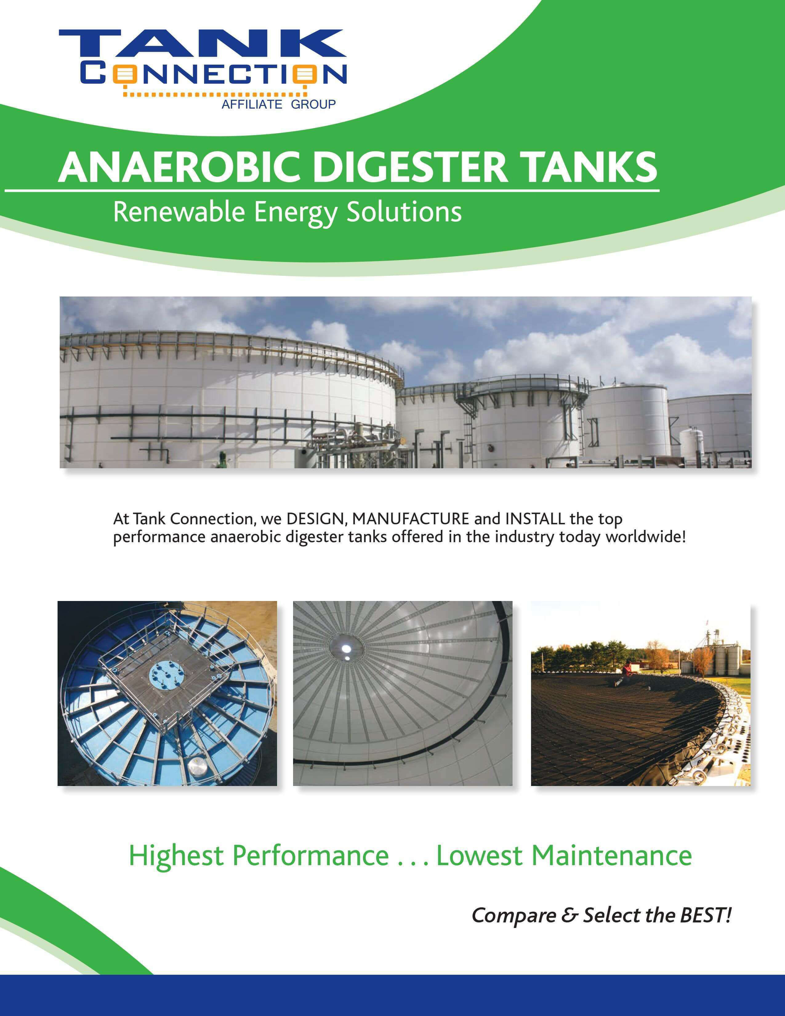 Anaerobic Digester Tanks