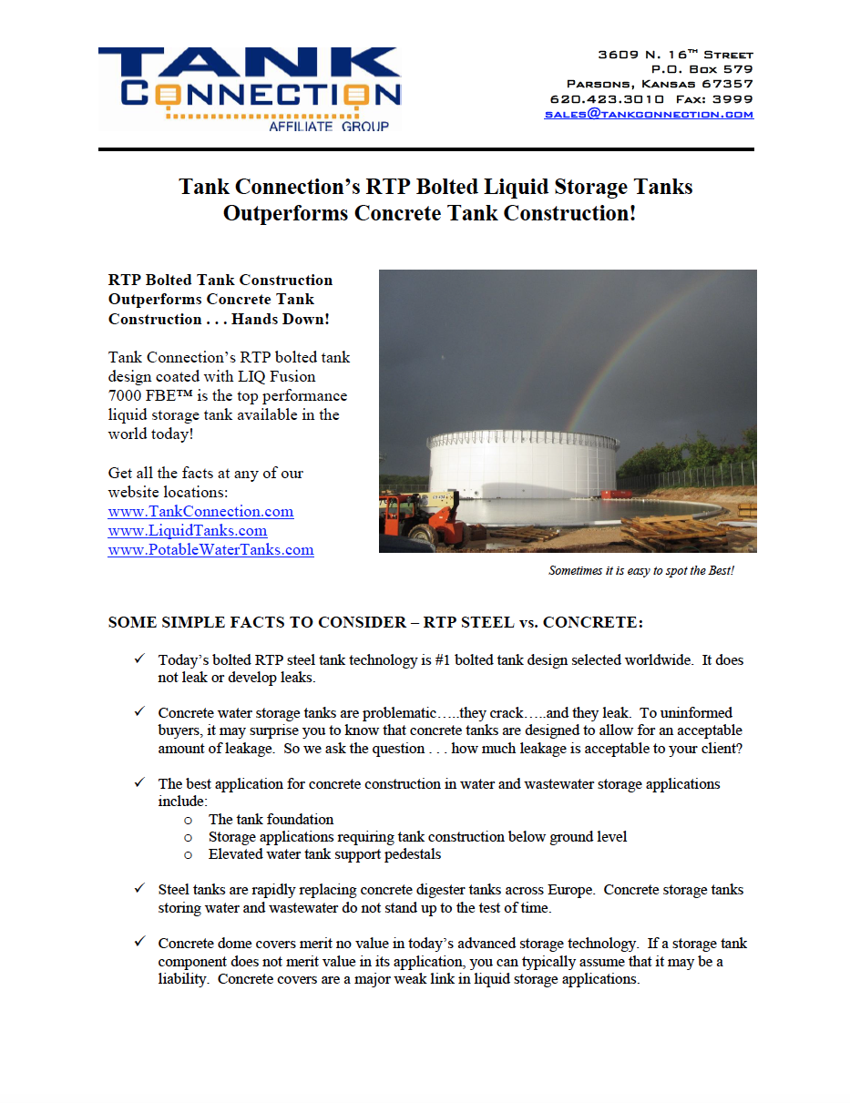 Bolted RTP Outperforms Concrete