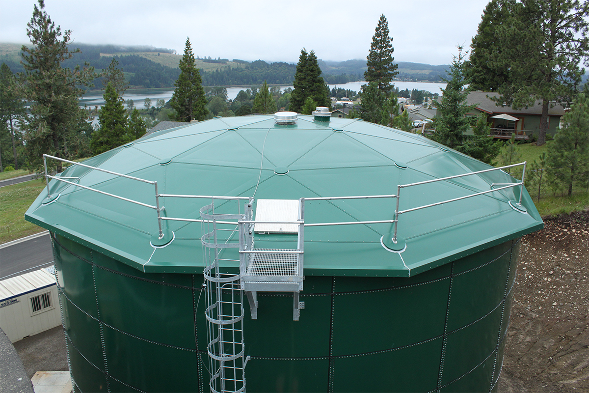 Lowell, OR • Dome Coating •  Municipal Water