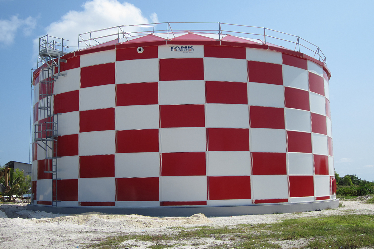Male, Maldives • Specialized coating for airport • Water Storage