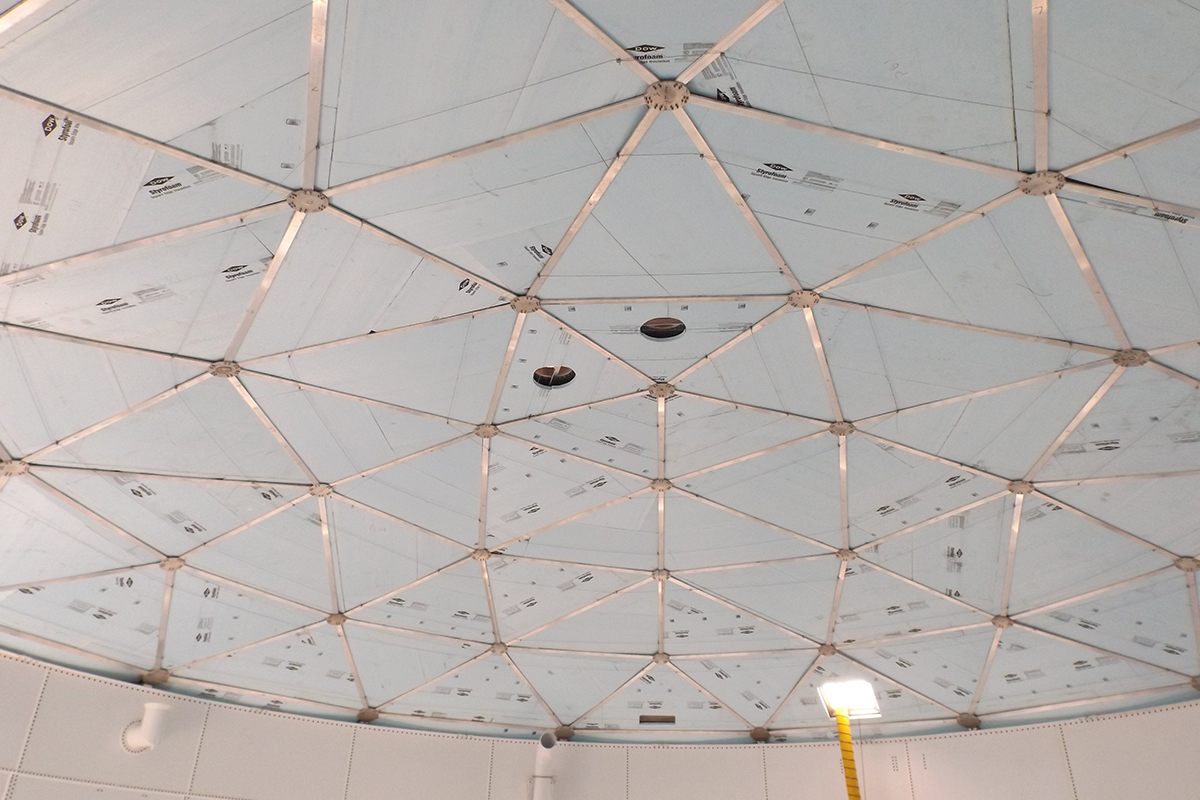 Interior Dome Insulation