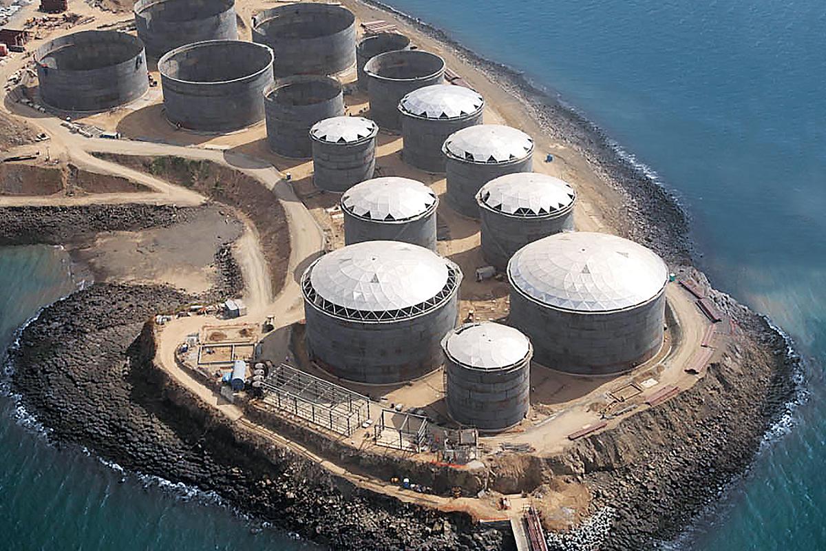 Panama • Petroleum