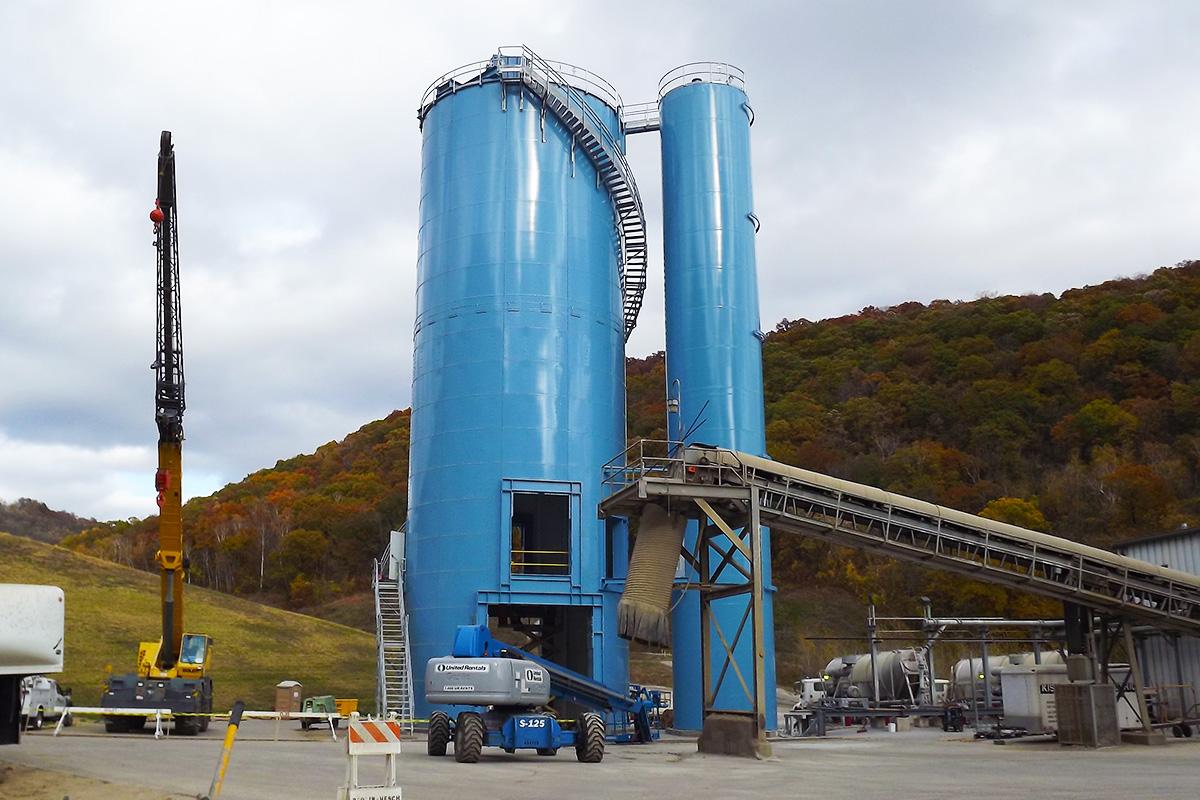 Cement terminal