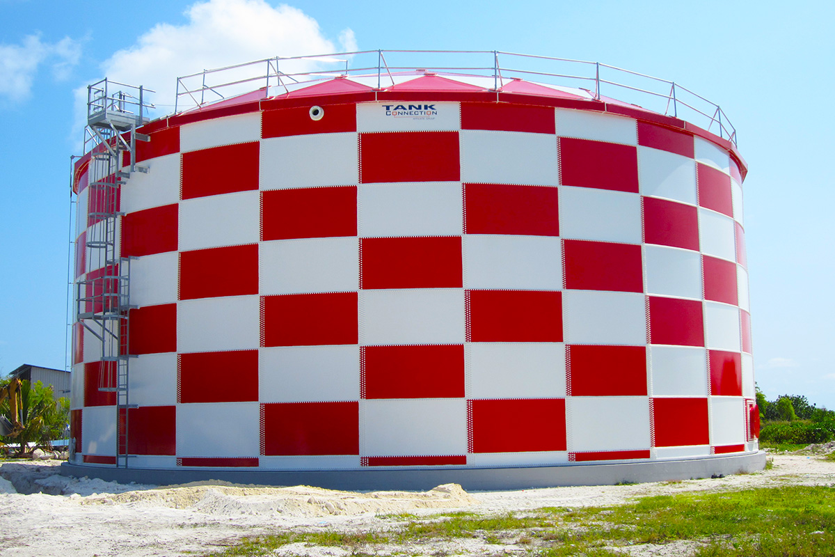 Airport potable water storage