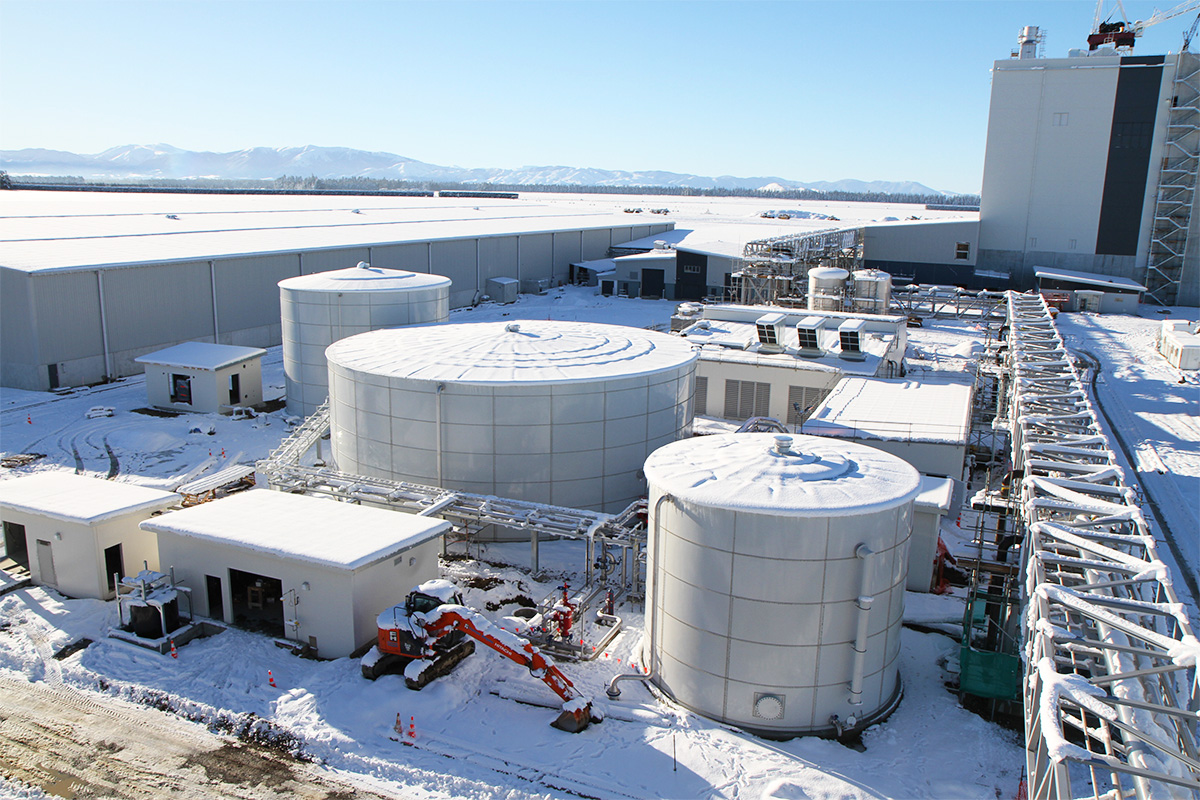 Liquid storage system