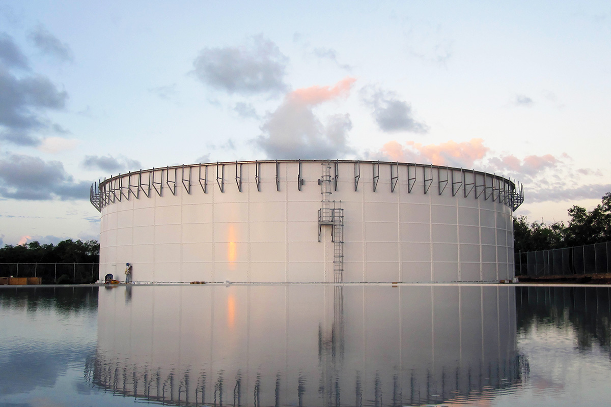 Anaerobic digestion tank