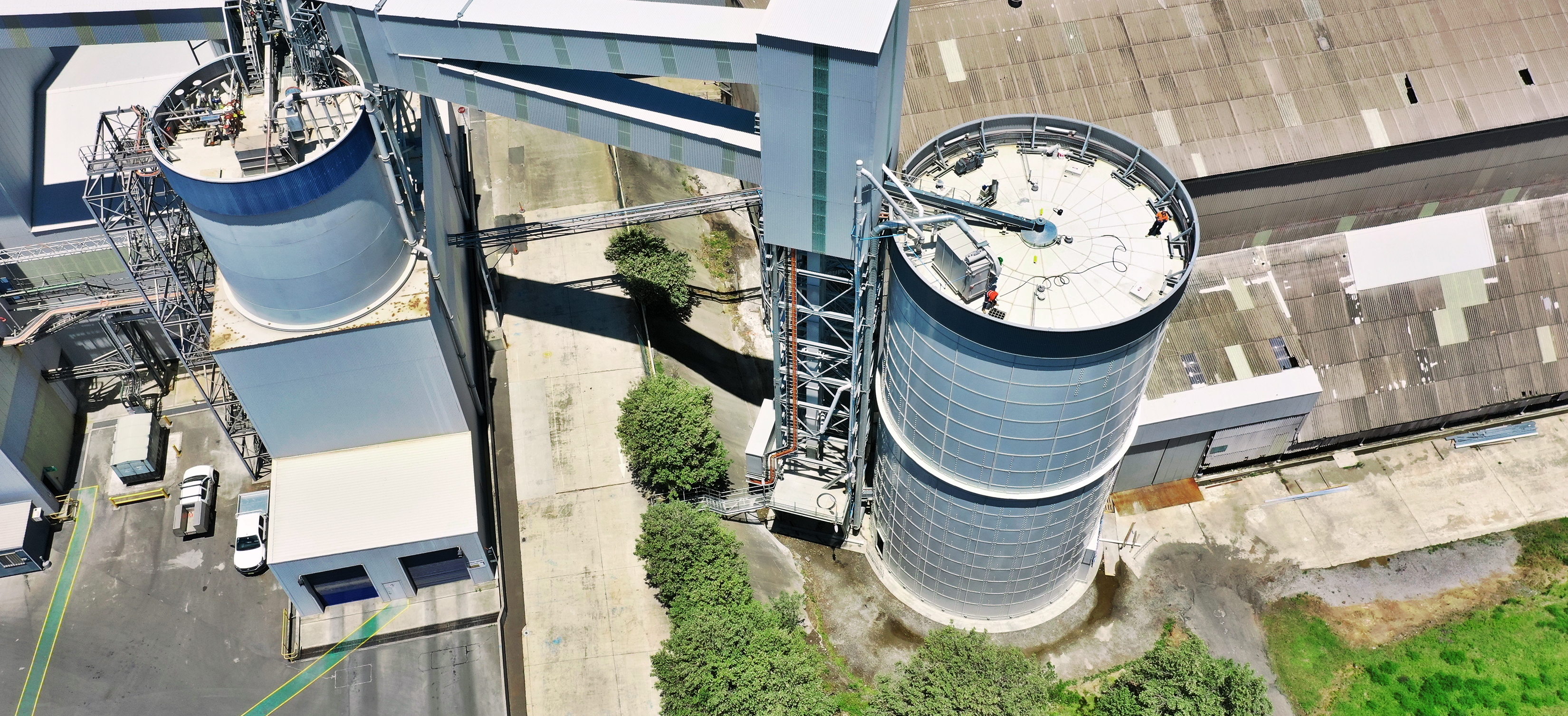 3,000 MT Cement Storage Silo, Australia