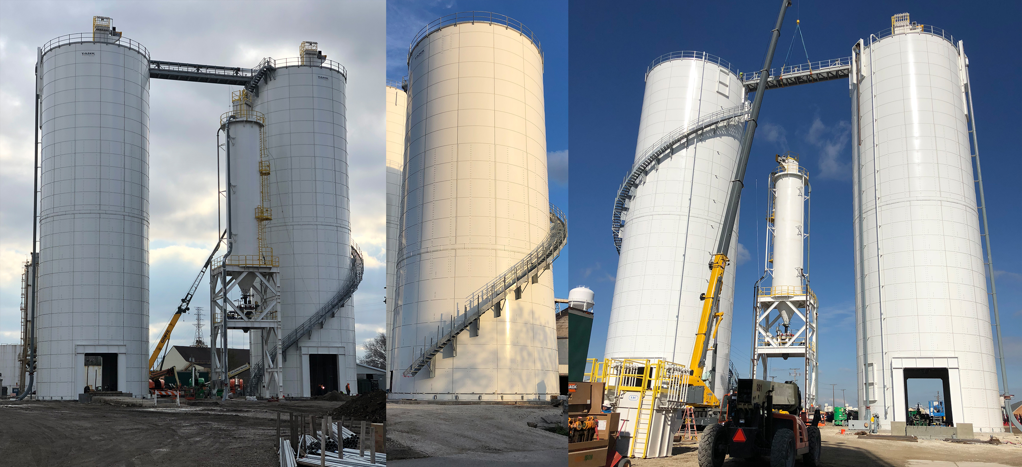 Fly Ash, Slag, Cement Storage & Load Out