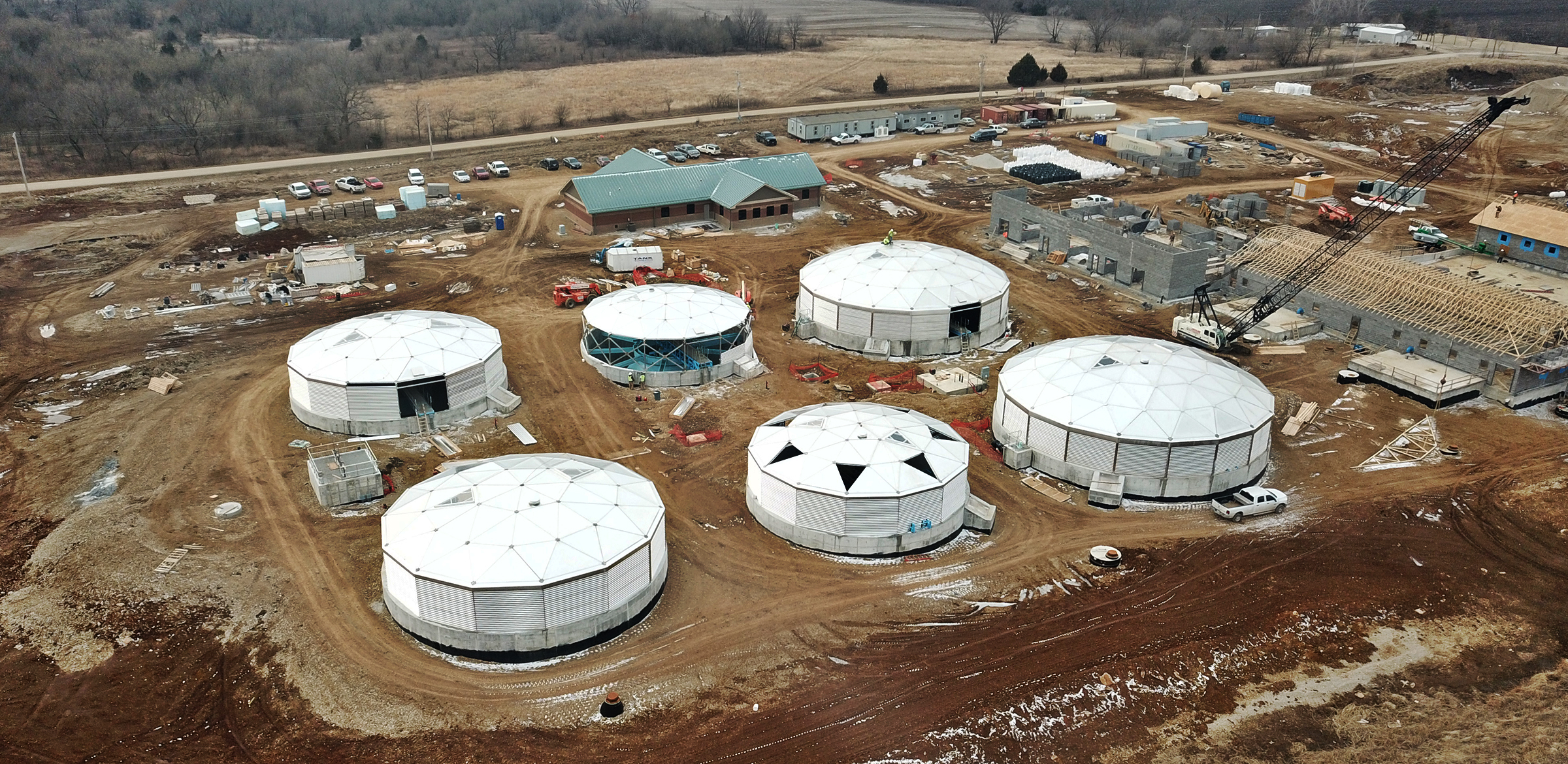 The APEX Domes Advantage | Kansas Water Treatment Facility