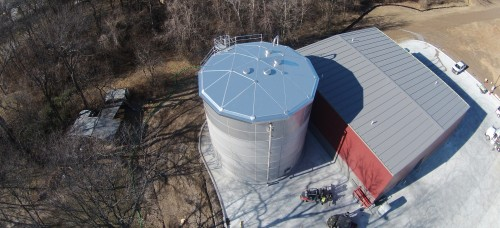 Stainless Steel Food Processing Storage