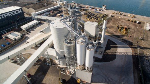 Melbourne, Australia Cement Terminal