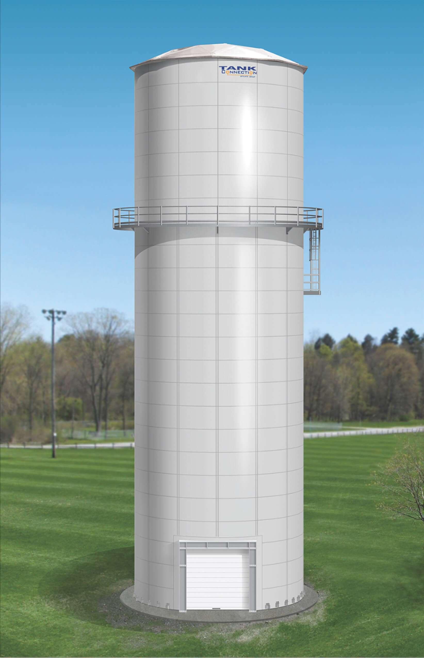 Elevated Water Tank : Elevated water tanks steel storage tank