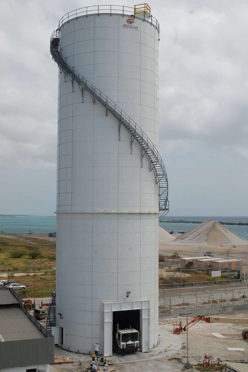 Cement Storage Dry Bulk Storage Tanks Tank Connection
