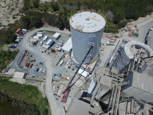 Cement Storage - Portland, New Zealand
