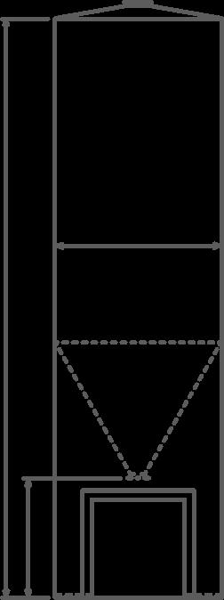 Dry bulk tank drawing